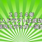 巨人 ドラフト 2014 評価